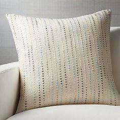 """Quent Blue 23"""" Pillow"""