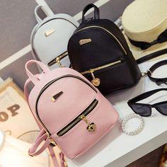 New Shoulder Bag Mini Backpacks Women Leather School Bag . New Shoulder Bag Mini Backpacks Women Leather School Bag Women Casual Travel Bag - Cute Mini Backpacks, Stylish Backpacks, Women's Backpacks, Leather Backpacks, School Backpacks, Fashion Bags, Fashion Backpack, Dress Fashion, Cute School Bags