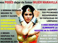 Dejar de fumar Mujer Maravilla The Unit, Smoking Cessation, Health Care, Lungs, Wonder Woman, You Are Awesome, Women