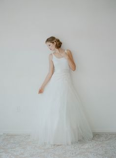Swan - Tulle skirt - Style # 2120 (2014 myra, bottoms, bridal attire, myra callan bridal, separates, skirts, view all) | Dresses | Twigs & Honey ®, LLC