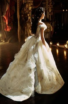 This dress from Phantom of the Opera was inspired by a portrait of the famously glamorous Empress Sisi of Austria