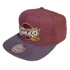 Mitchell & Ness Heather Profile Cleveland Cavaliers Snapback