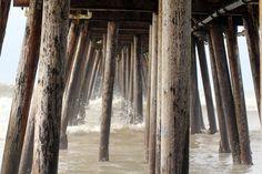Stormy Pier
