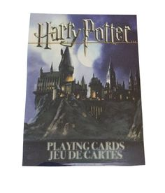 Harry Potter Official Poker Playing Cards Sealed Deck New Licensed #NMR