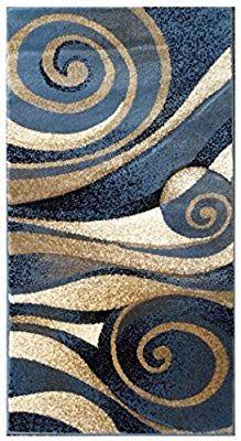 Amazon Com Modern Door Mat Area Rug Design Sculpture 258 Blue 2 Feet X 3 Feet 8 Inch Home Kitchen Area Rug Design Modern Doormats Rugs