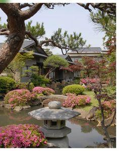 Tokiwa Hotel @ Kofu. Beautiful Japanese garden. Misaka cottage w/ open-air bath is of great value for money.