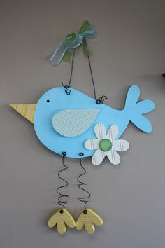 Large Hanging Bird Like our Facebook page! https://www.facebook.com/pages/Rustic-Farmhouse-Decor/636679889706127