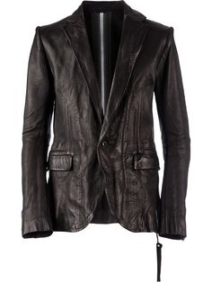 distressed stylised blazer