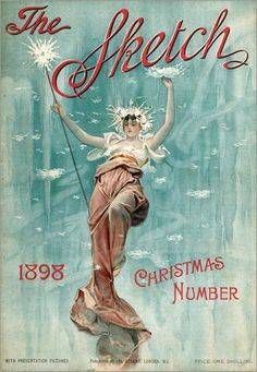 English School - Front cover of The Sketch Christmas Number, 1898