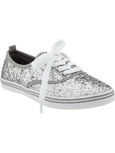 old navy glitter sneakers