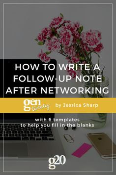 Email > Phone Calls, but that doesn't make it any easier! Here are our best tips (and 6 templates) to help you follow-up after in-person networking.