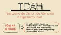 Infografía TDAH: Qué es, sus síntomas y las mejores pautas o consejos para tratar a un niños con Déficit de atención por hiperactividad