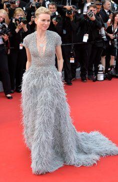 Naomi Watts In Elie Saab. Cannes 2015   - ELLE.com