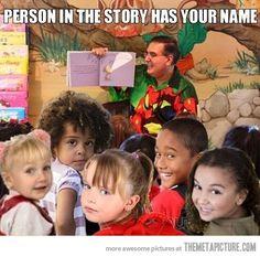 This always happens in grade school