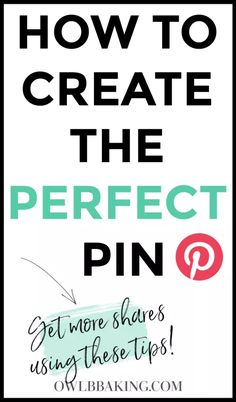 How to Make the Perfect Pin Digital Marketing Strategy, Marketing Tools, Business Marketing, Content Marketing, Affiliate Marketing, Social Media Marketing, Online Business, Marketing Strategies, Mobile Marketing