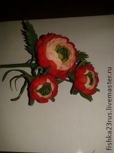 Создаем ранункулюс из фоамирана - Ярмарка Мастеров - ручная работа, handmade