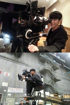 """Kim Soo Hyun Becomes the Camera Director for """"Man from the Stars""""?   Soompi"""
