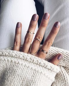 Fresh mani & bell sleeves