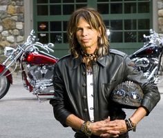 Steve Tyler...rock legend!! So unique and eccentric never fails to impress...he makes fashion his own instead of folllowing others...awesome, soulful, down right badass dude!