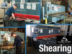 Allied Steel NYC provides #Steel_Shearing_Fabrication_Services in New York City and its boroughs such as Manhattan and Brooklyn. Aluminum diamond plate, steel checker plates, galvanized sheet and leveling plates are some of our steel shearing products.