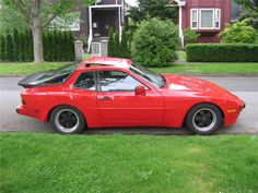 """""""Car - 1986 Porsche 944 Red on Black in VANCOUVER, BC $3,900"""""""
