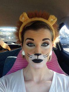 Simba Halloween Makeup
