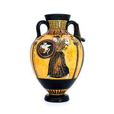 Panathenaic amphora - dadart Greek Pottery, Black Figure, The Inventors, Mythical Creatures, Period, Art, Art Background, Magical Creatures, Kunst