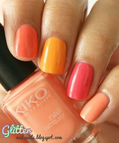 Glitter and Nails: Kiko    Check out http://www.nailsinspiration.com for more inspiration!