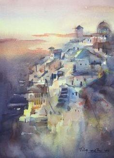 Mountain Town by Jing Chen