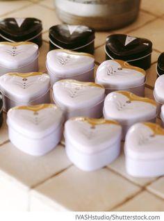 Wedding Gastgeschenke Boxen für russische Hochzeiten