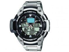 Relógio Masculino Casio SGW-400HD-1BVDR - Anadigi Resistente à Água Cronômetro Calendário