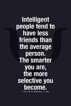Friends: it's not about the quantity but the quality that counts.