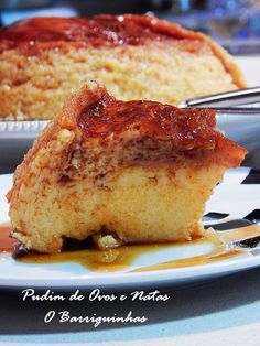 Pudim de Ovos e Natas Flan, Biscuits, French Toast, Sandwiches, Sweets, Sugar, Breakfast, Honey, Cake Receipe