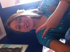 Good morning!! ☀ My hair is in a side braid w/ flower  ✌