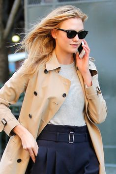 NEWS BEST BEUTY LOOKS 23.3.2016....WHO: Karlie Kloss   WHERE: On the street, New York City  WHEN: March 18, 2016