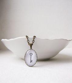 Skeleton Key Necklace by smafactory on Etsy, $20.00