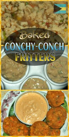 Baked Conchy-Conch Fritters