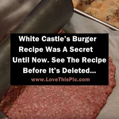 White Castle cheeseburgers are among some of the most loved mini burgers in the United States.  The little delectable treats are hard to find anywhere else except for a White Castle restaurant, which can be a problem for many people because those burgers are just so good!