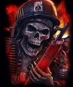 Risultati immagini per fantasy art skulls Dark Fantasy Art, Dark Art, Heavy Metal, Totenkopf Tattoos, Skull Pictures, Skull Artwork, Skull Wallpaper, Skull Tattoos, Grim Reaper