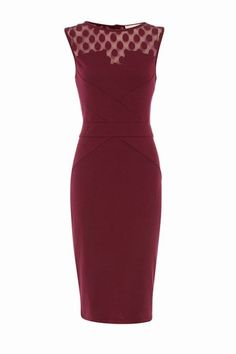 Raspberry shift dress - What to wear to a wedding: Wedding guest dresses
