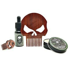 Health & Beauty Balm Free Beard Brush Precise Hand Crafted Caveman® Beard Oil Set Kit Beard Oil Treatments, Oils & Protectors