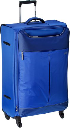 a59f2cee18 American Tourister Sky Polyester 82Cms Blue Soft Sided Suitcase (25R (1) 31  003)  Amazon.in  Luggage   Bags Rs.7600
