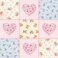 mini shabby chic quilt