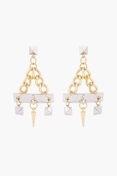 Fallon - Chandelier Charm Earrings