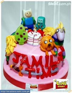 Adventure Time With Finn And Jake Cakes Cupcakes Philippines