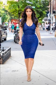 Kim K West....love this look