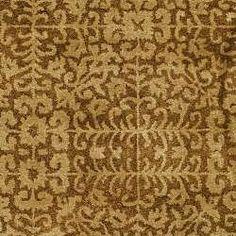 Handmade Majestic Beige Wool Rug (6' x 9')