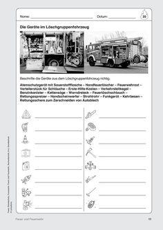 feuerwehr Arbeitsblätter · Lehrerbüro Sheet Music, Kindergarten, Secondary School, Project Ideas, Projects, Preschool, Kindergartens, Music Sheets, Day Care