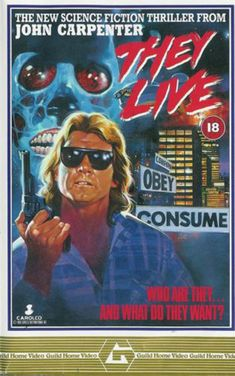 $9.94 - 24X36Inch Art They Live Movie Poster 1988 John Carpenter Rowdy Roddy Piper P01 #ebay #Collectibles