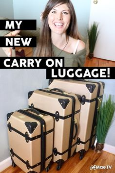 Here's an overview of my new carry on luggage configuration for 2017! It includes a beautiful new designer luggage set, paired with a slick tech backpack.